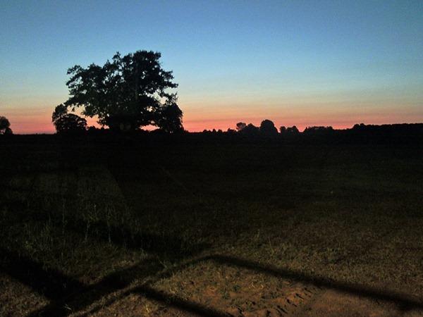 july 7 sunset