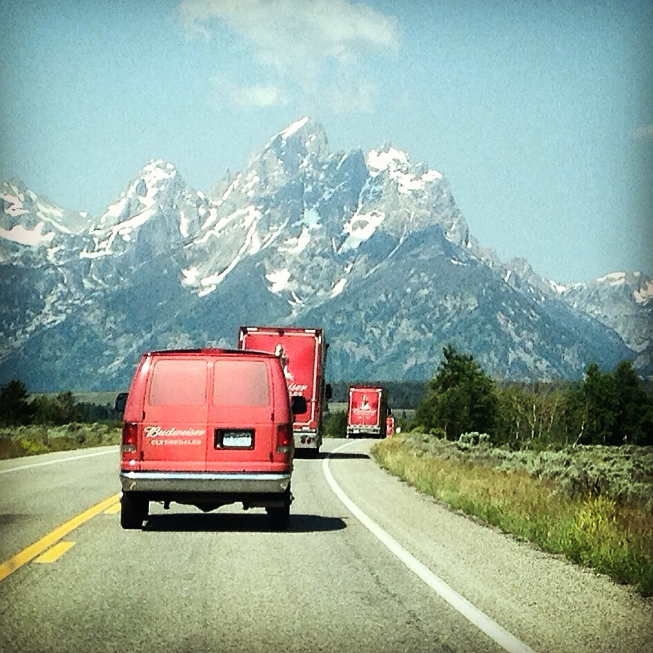 #followthehitch - tetons